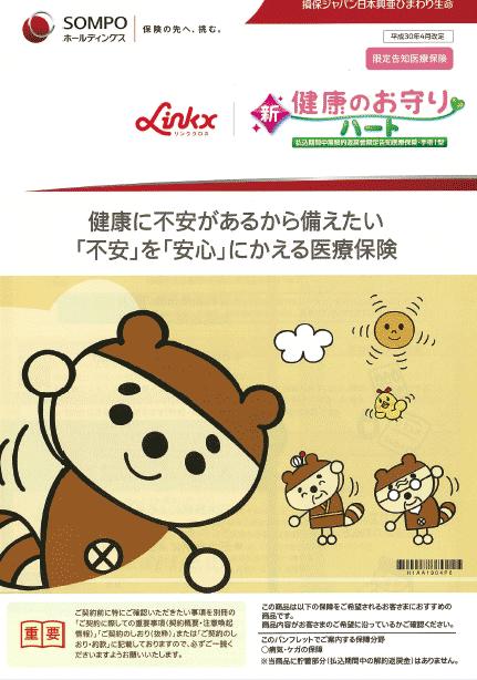 Linkx 新・健康のお守り ハートの表紙